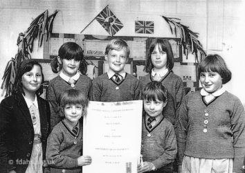Ferndale School Pupils 1977