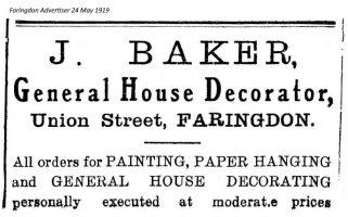 Ferndale St Baker Advert 1919