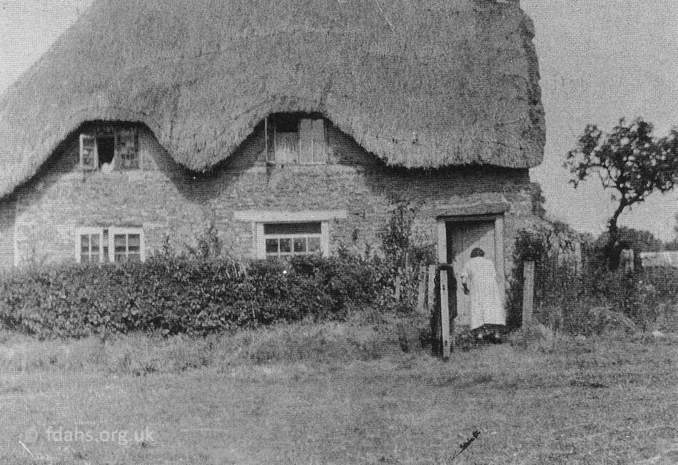 Fernham Peach Cottage C1925
