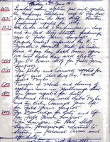 Fire Station Log 1961