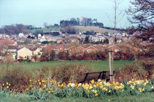 Folly Hill From Highworth Rd 1995