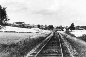 Folly Hill From Railway 1953