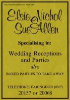 Gloucester St Nichol Advert 1984