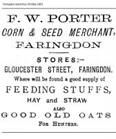 Gloucester St Porter Advert 1891