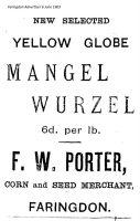 Gloucester St Porter Advert 1903