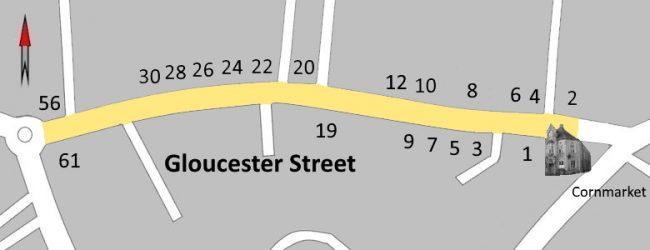 Gloucester Street Map