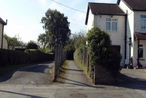 Highworth Road Footpath 2000