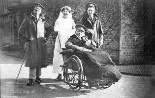 Kitemore Hospital Wounded