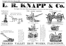 Knapp Advert 1894