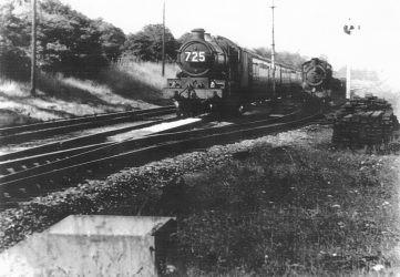 Knighton Crossing 1952