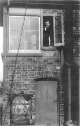 Knighton Crossing Signal Box 1952