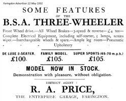 Lechlade Rd Enterprise Advert 1931