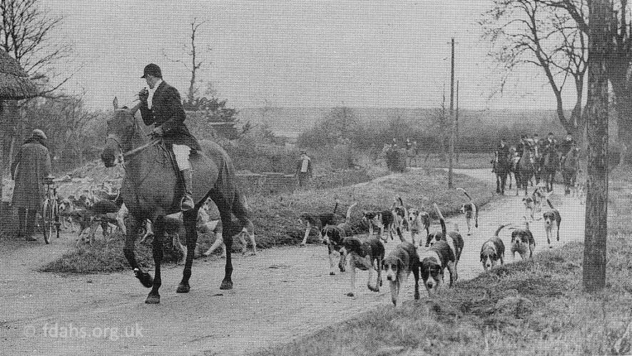 Little Coxwell Hunt 1942