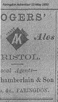 London St Chamberlain Advert 1893