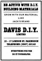 London St Davis Advert 1988