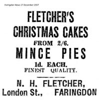 London St Fletcher Advert 1937