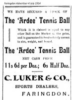 London St Luker Advert 1914