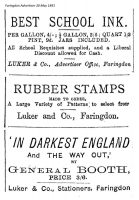 London St Luker Advert 3 1891