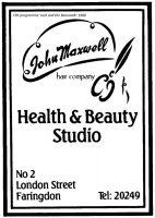 London St Maxwell Advert 1988