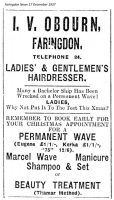 London St Obourn Advert 1937