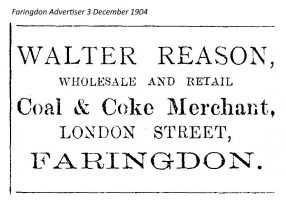 London St Reason Advert 1904