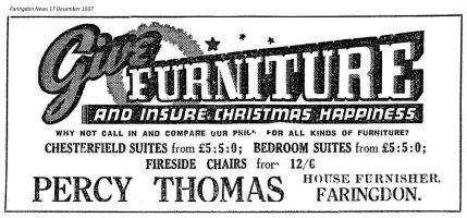 London St Thomas Advert 1937