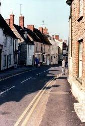 London Street Down Left