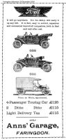Market Pl Anns Ford Advert 1914
