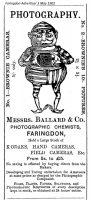 Market Pl Ballard Advert 1902