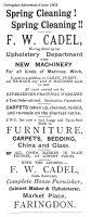 Market Pl Cadel Advert 1903