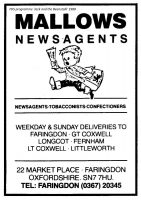 Market Pl Mallows Advert 1988