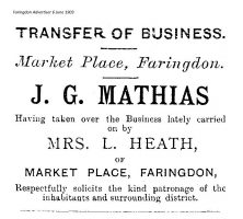 Market Pl Mathias Advert 1903