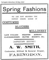 Market Pl Smith Advert 1919