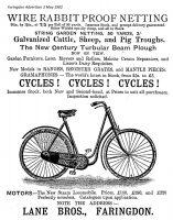 Marlborough St Lane Advert 1902
