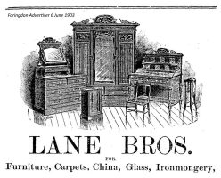 Marlborough St Lane Advert 1903
