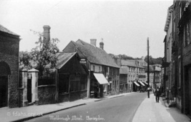 Marlborough Street Down 1920s