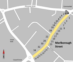 Marlborough Street Map