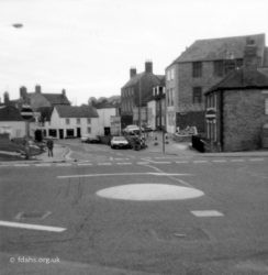 Marlborough Street Roundabout 1982