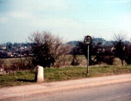 Milestone Highworth Road 1985
