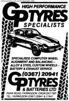 Park Rd Gptyres Advert 1988