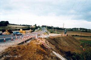 Park Road A420 Roundabout 1992