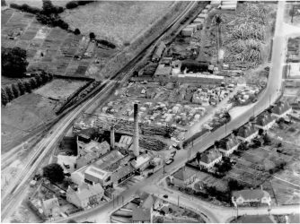 Park Road Aerial View