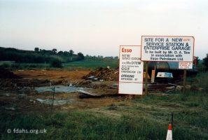 Park Road Garage Site 1987
