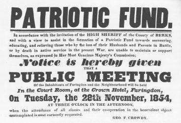 Patriotic Fund 1855