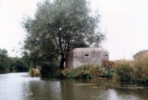 Pill Box Radcot River 1989