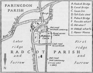 Radcot Map