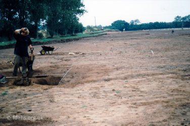 Saunders Field 1st Excavation