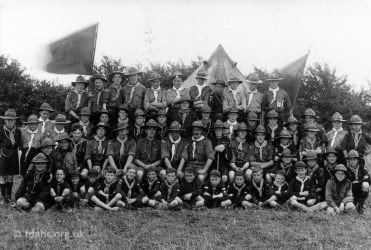 Scout Camp Uffington 1924