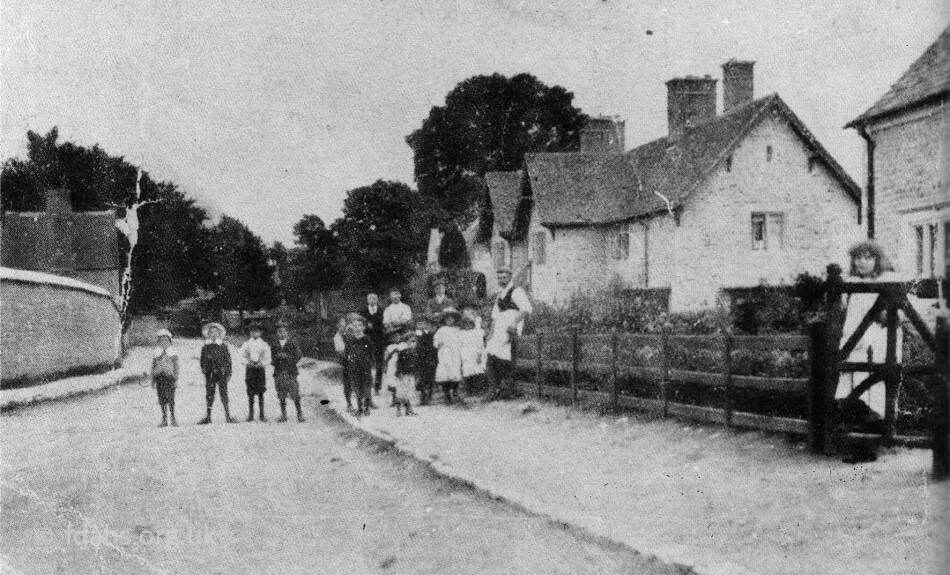 Shellingford Church Street 1910