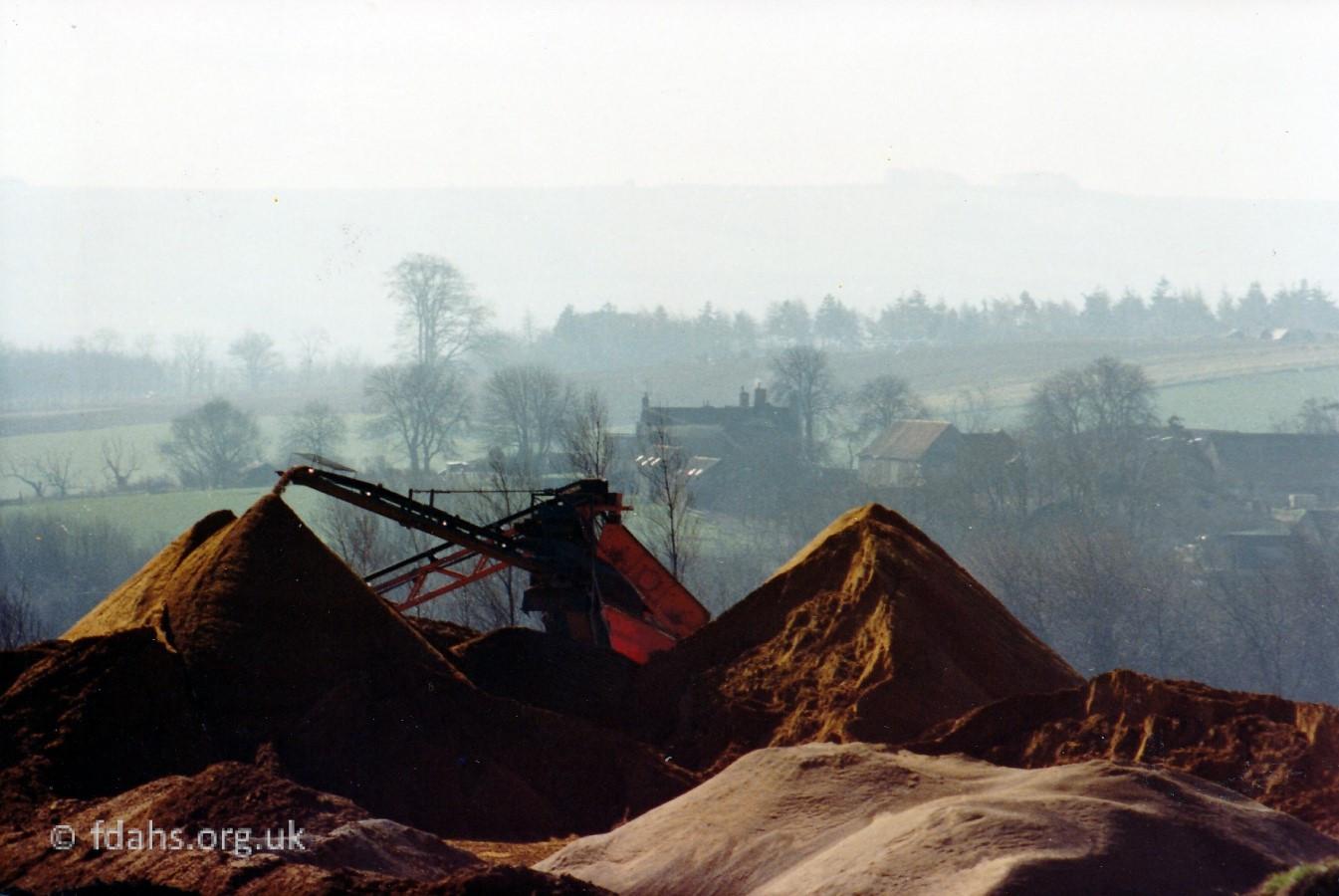 Shellingford Quarry 1982